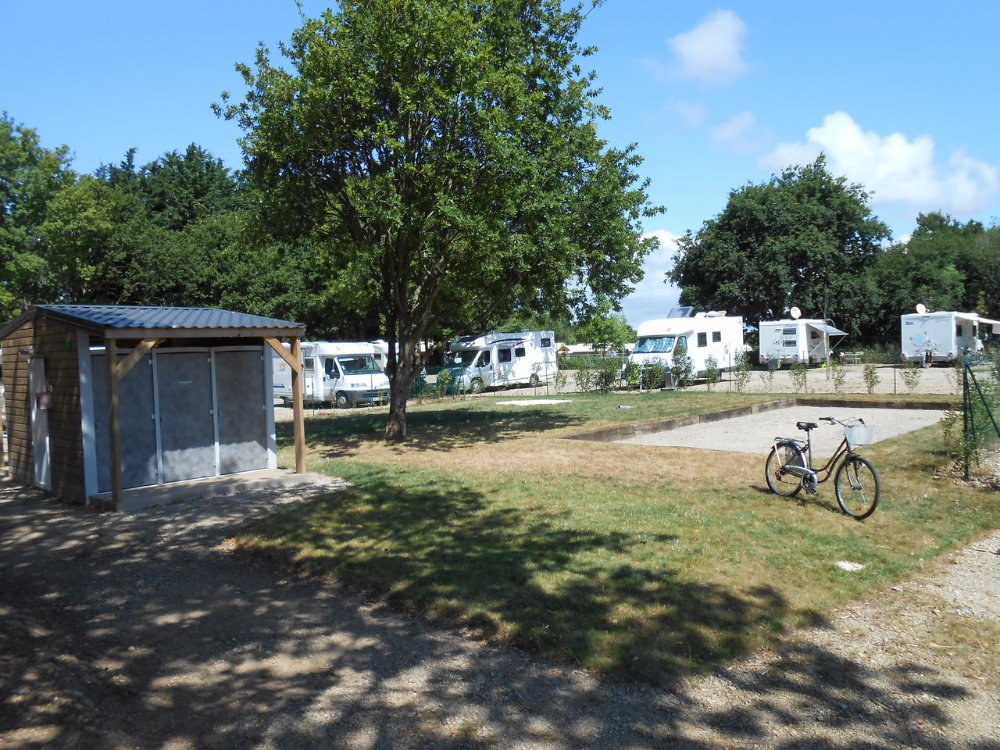 Aire camping-car à Baden (56870) - Photo 1